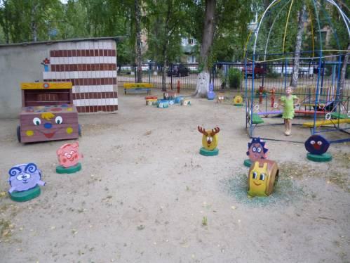 Детские площадки своими руками фото из пластиковых бутылок