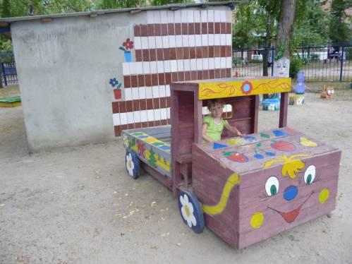 Детские площадки в саду своими руками фото по фгос