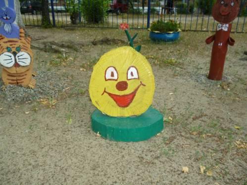 Украшение для детских площадок своими руками