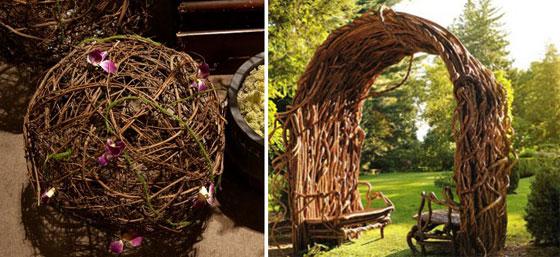 Плетение из веток деревьев своими руками 3